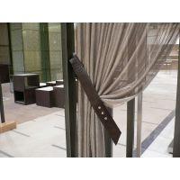 客户分享金属窗帘,金属装饰网使用之后效果图