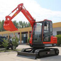 河南安阳工程用小型挖掘机可出租回本快 微型挖掘机搞笑挖掘