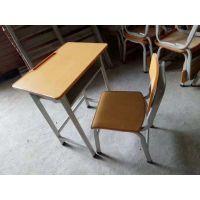 SZ001学生升降钢木结构课桌椅厂家