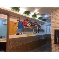 上海幼儿园装修墙绘动物园游乐场墙体彩绘校园手绘墙室内户外壁画涂鸦3D立体画喷绘手绘墙喷绘