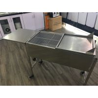 嘉美牌双置物台可折叠可升降炭网169D豪华BBQ烧烤炉抛光,电焊,平头等工艺