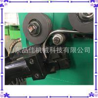 车辆配件加工圆管打圈机 数控液压钢管盘圈切断机 方向盘打圈机