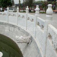 厂家直销汉白玉大理石栏河板 寺庙专用大理石栏杆雕刻