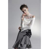 紫馨源高端品牌女装折扣库存货源