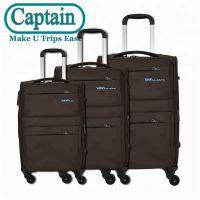 拉杆箱Logo定制打样 ABS三件套几何图案行李箱 旅行箱 登机箱批发