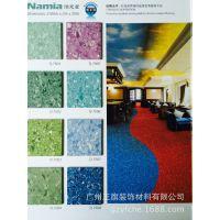 厂家直供同质透心无方向抗酸碱PVC卷材地板 医院实验室专用 耐磨