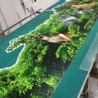 深圳定制万圣节趣味拍照背景KT板喷绘多少钱一平米