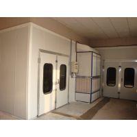 中明环保厂家 环保型汽车烤漆房 环保检测达标 豪华型配置烤漆房