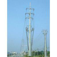 辽宁省 电力钢杆销售点 35kv-110kv钢桩基础 打桩 基业