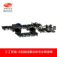 安徽智能光伏电池组件生产线双玻叠层与层前检测模块功能介绍