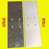 温州喷砂抛丸加工 铝件铁件不锈钢喷砂除锈去毛刺