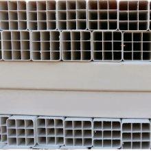 PVC方孔格栅管直径107九孔格栅管厂家批发