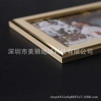 韩国土豪金九宫格照片墙 创意客厅画框组合卧室相框墙 挂墙相片墙