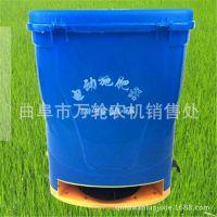 电动施肥器背负式撒肥机鱼塘投料机水田果树撒肥机 电动撒肥器