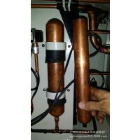 厂家供应空气能热水器大型紫管铜储液管 储液罐缩口封圆锥底加工