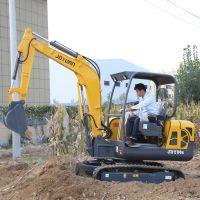 先导操作30微型挖掘机 家用小挖掘机 建设改造小型工程挖土机