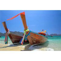 江苏宿迁哪里有欧式装饰船 户外景观木船出售