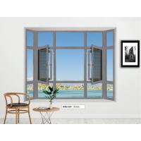 断桥推拉窗唯纳斯厂家批发定制隔音门窗纱窗一体防虫