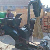 大型自动进料粉碎机 圣鲁玉米杆破碎机