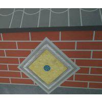 贴铝箔岩棉板制造厂家 硬质砂浆岩棉复合板RF32