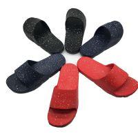 厂家生产EVA防滑成型男士撒点工艺家居拖鞋浴室酒店拖鞋批量定制