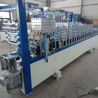 多功能门线边包覆机 竹木纤维板PVC包覆机 高效率