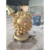 惠州玻璃钢雕塑厂家定制活动吉祥物卡通雕塑工艺品