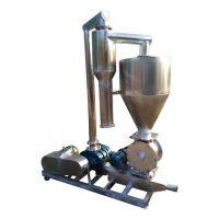 场上作业机械移动式 精细粉料防尘气力装罐输送机