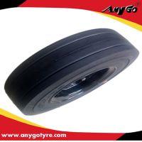 扫地车AnyGo环保胎环保实心轮胎4.00-8及配套轮辋