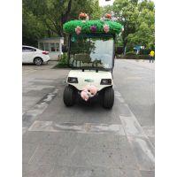 南京绿通四轮新能源电动观光车