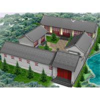 河北若艺古建工程专业承揽各种大小型四合院的设计及工程施工