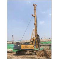 新型XR160E旋挖钻机每天成桩4-5根,深得用户赞誉