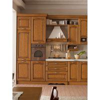 成都西安昆明贵阳欧式整体橱柜定做实木厨柜厨房开放式装修定制