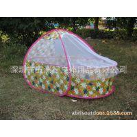 五洲风情品牌婴儿床 婴儿用品 可折叠便携式带蚊帐婴儿移动床