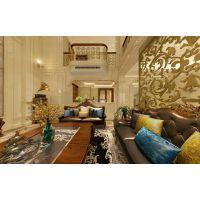 金科太阳海岸装修|重庆别墅装修|天古装饰设计师吴德风作品|欧式风格