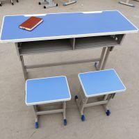 新乡课桌椅厂 学生课桌辅导班补习班可升降课桌