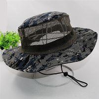 帽子男天户外出游太阳帽防晒迷彩夫帽特种兵帽登山凉帽
