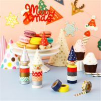 小马百货 创意文具批发 新款 圣诞卡通造型拉花彩旗 场地布置道具