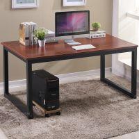 jsh简易电脑台式桌家用简约组装职员办公桌现代单人写字台经济型