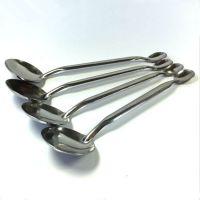不锈钢双头勺产品示范演示工具专用不锈钢小勺 示范小勺子药勺
