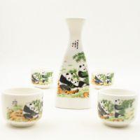 实用 陶瓷工艺品摆件 三角酒具茶具套装促销会议礼品旅游纪念品