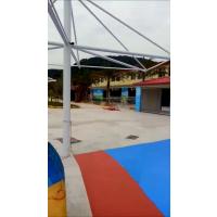 游泳池刷漆工程 儿童乐园地面刷漆 游乐园防滑漆工程施工