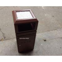 批发售楼部垃圾桶 顶部带石头的烟灰桶 室内垃圾桶 可定制
