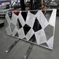 东莞2.0雕花铝板、商场外幕墙冲孔板