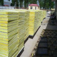滨州市 屋面半硬质岩棉复合板一吨 建筑钢结构岩棉复合板14个厚价格