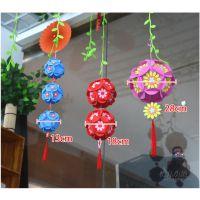 Diy手工泡沫吊花球 幼儿园空中挂饰吊饰 教室走廊环境布置玩具