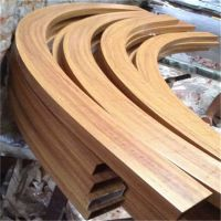 南通异型铝方通装潢 木纹色波浪铝方通供应商