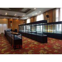 上海展柜出租展示柜八棱柱组装金属陈列柜租赁珠宝柜台租借
