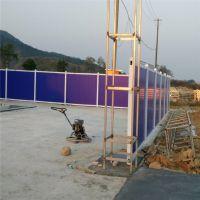 广西地铁彩钢围挡 彩钢土墙围挡 高速临时隔离栏
