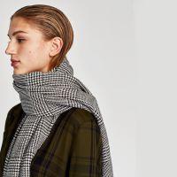 KAKABNI国际品牌亚马逊速卖通欧美风仿羊绒围女秋冬长款礼品披肩